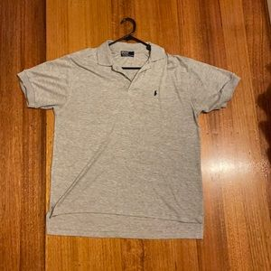 classic grey polo by Ralph Lauren